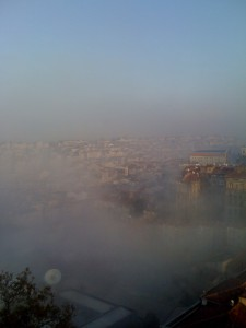 nebel istanbul