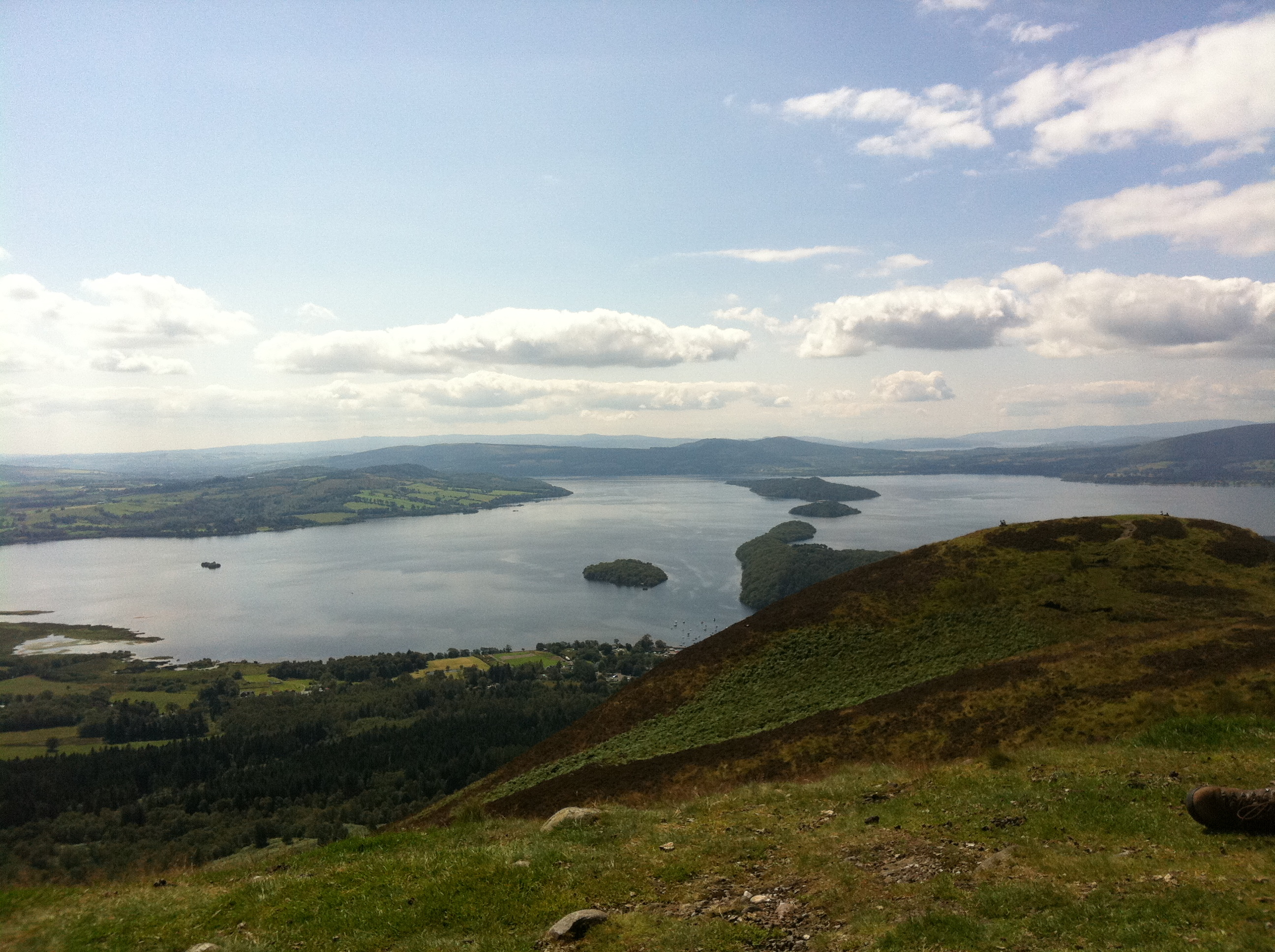 Blick vom Conic Hill