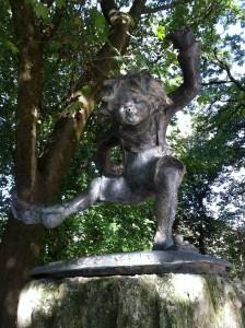 Pumuckl-Brunnen in München