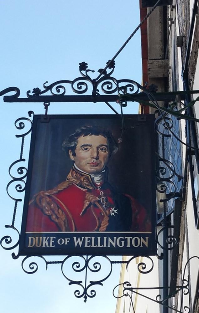 Pub Schild in Southampton