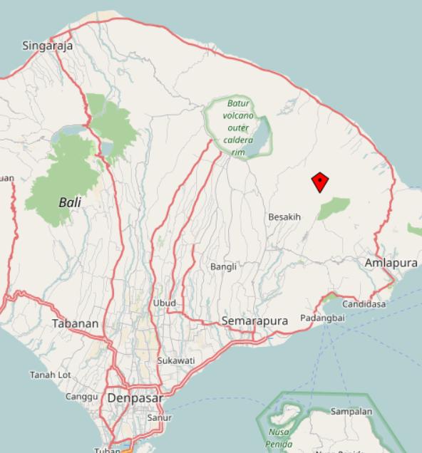 Vulkan-Urlaub auf Bali? Vielleicht…