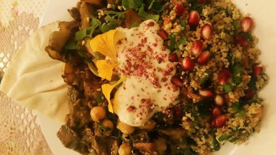 Vegetarisch essen im Chiemgau: bei Manjas Wirthaus am Schellenberg in Bergen