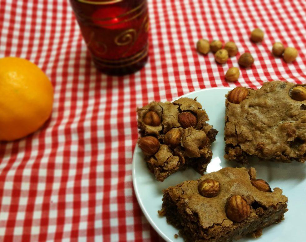 Rezept für Nougat Haselnuss Brownies
