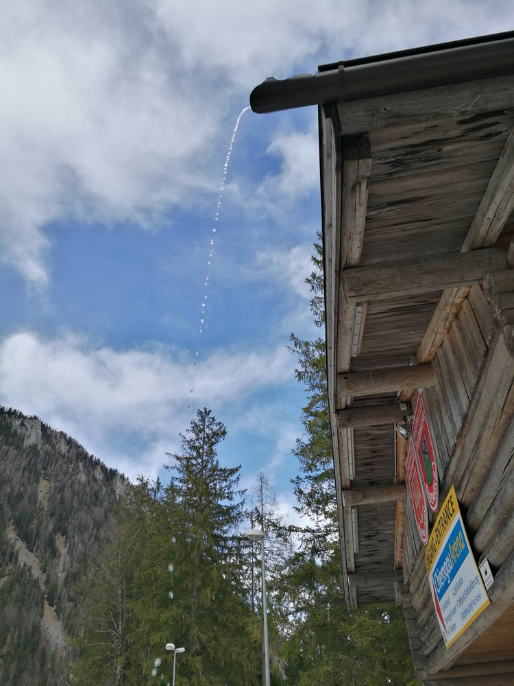 es taut in Ruhpolding